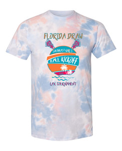 Florida Draw 2020 Tie Dye Coral