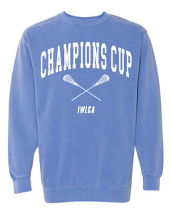 Official IWLCA Champions Cup crew neck