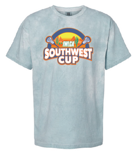 Official IWLCA Southwest Cup Garment - Dyed short sleeve t-shirt