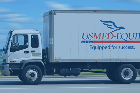 US Med-Equip 2 hour plus drive time delivery commitment