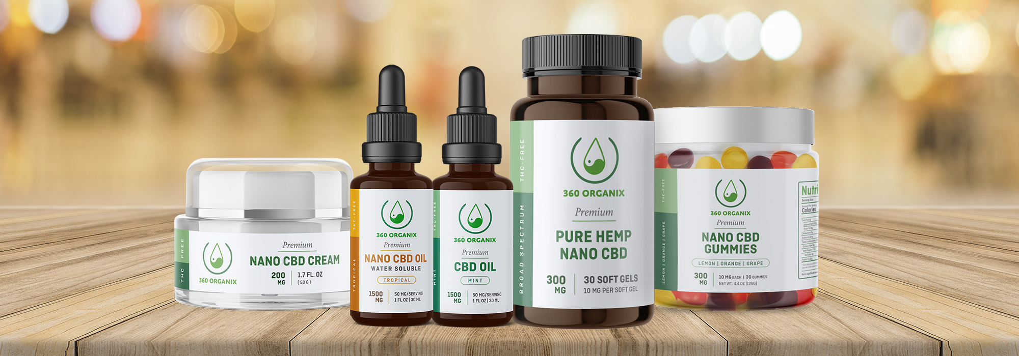 360 Organix CBD Products