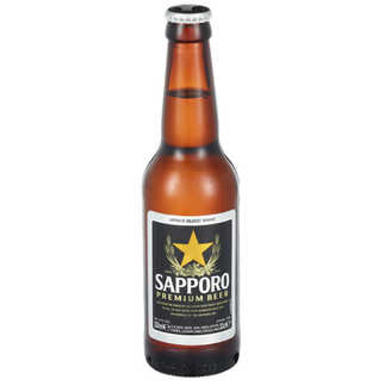 """SAPPORO"" BEER BOOTLE330ML(24)"