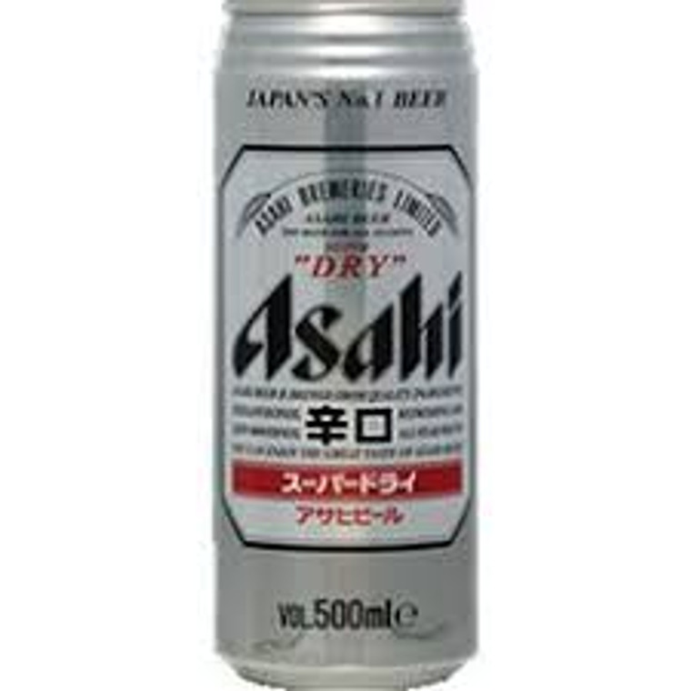"""ASASHI""BIERE CAN 500ML(24)"
