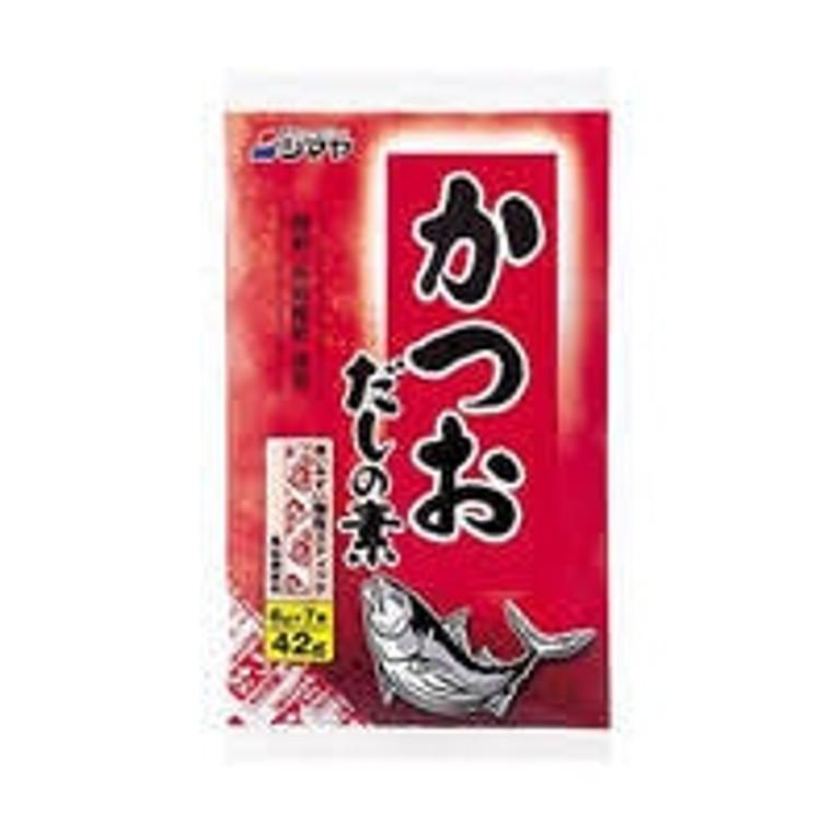 """""""SHIMAYA"""" KATSUO DASHI NO MOTO 42G PILLOW (6/10/7X6 G)"""