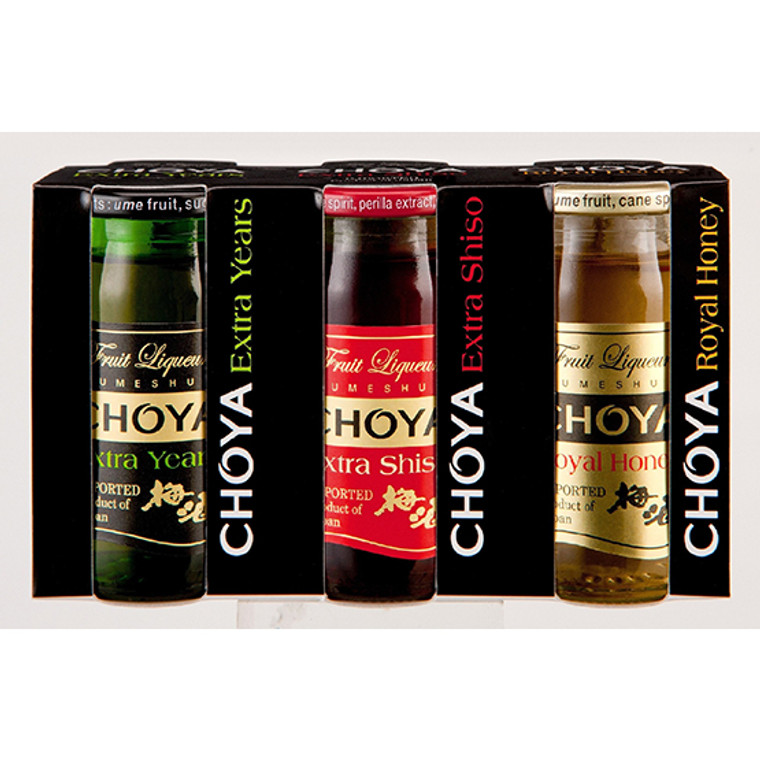 """CHOYA"" UMESHU 50ML*3P SET(20)"