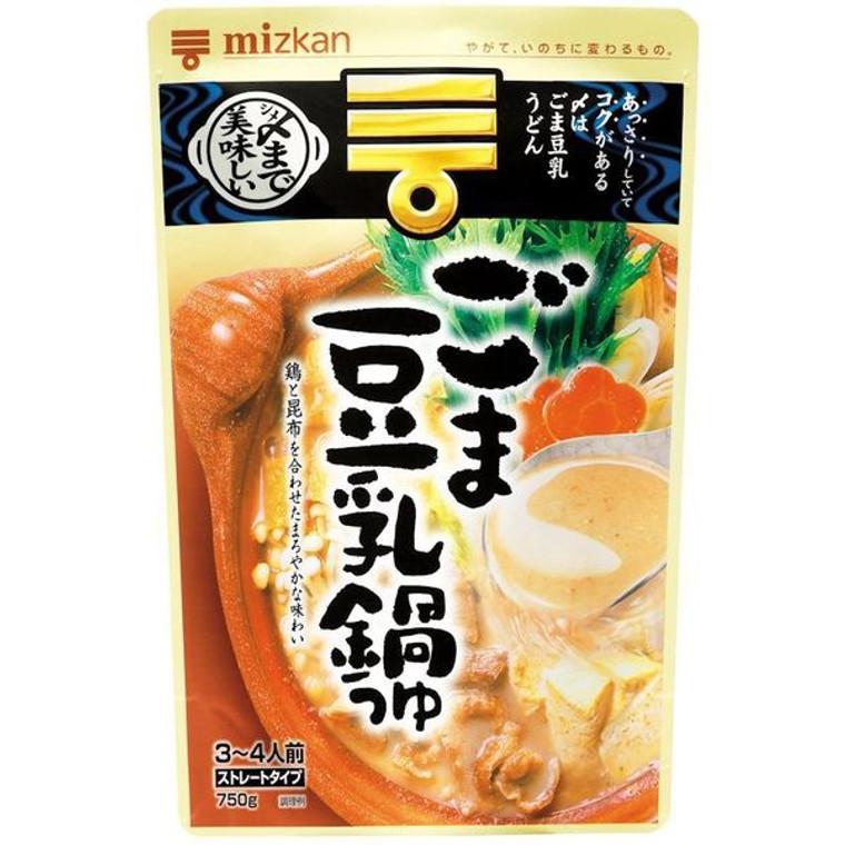 """""""MIZKAN"""" SHIME MADE OISHII GOMA TONYU NABE TSUYU STRAIGHT 750G(12)"""