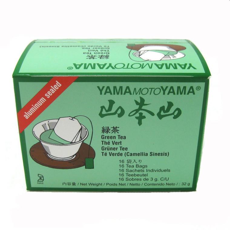 """YMY"" SENCHA GREEN TEA BAG 16P(6)"
