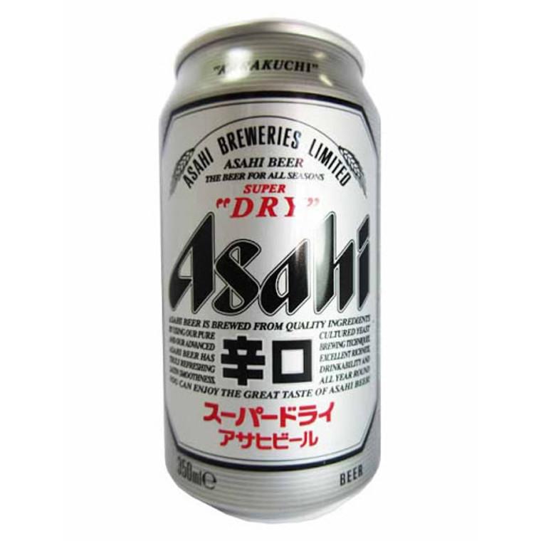 """ASASHI""BIERE CAN 350ML(24)"