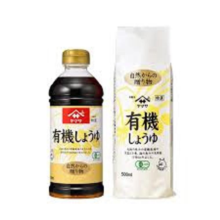"""""""YAMASA"""" YUKI SHOYU 500ML(12)"""