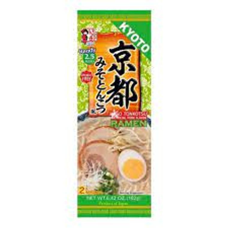 """""""ITSUKI"""" ANIMAL FREE KYOTO MISO TONKOTSU FU RAMEN 182G(12)"""