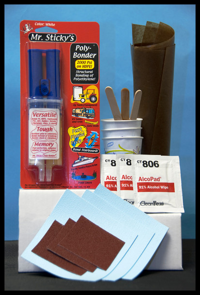 BOAT LIFT PONTOON REPAIR KIT (MANUAL MIX)