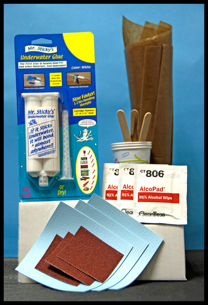 ABOVE-GROUND VINYL POOL REPAIR KIT (AUTO  MIX)