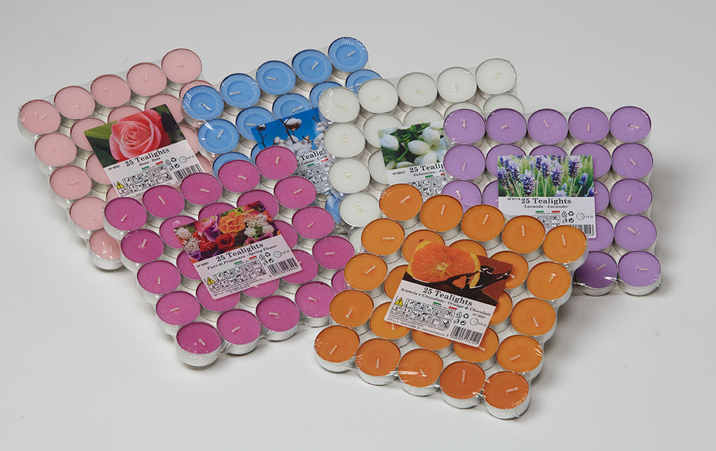 Scented Tea Lights - Pack of 25