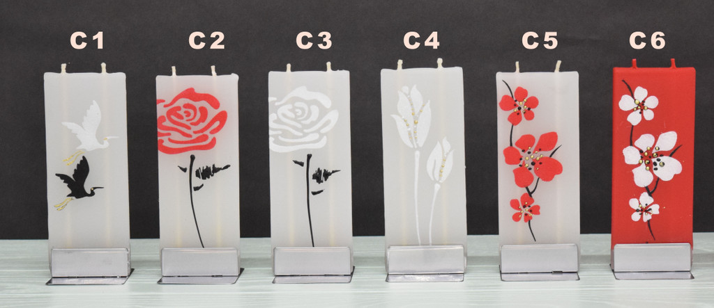 FLATYS - Handmade Decorative Flat Candles (Close out styles)