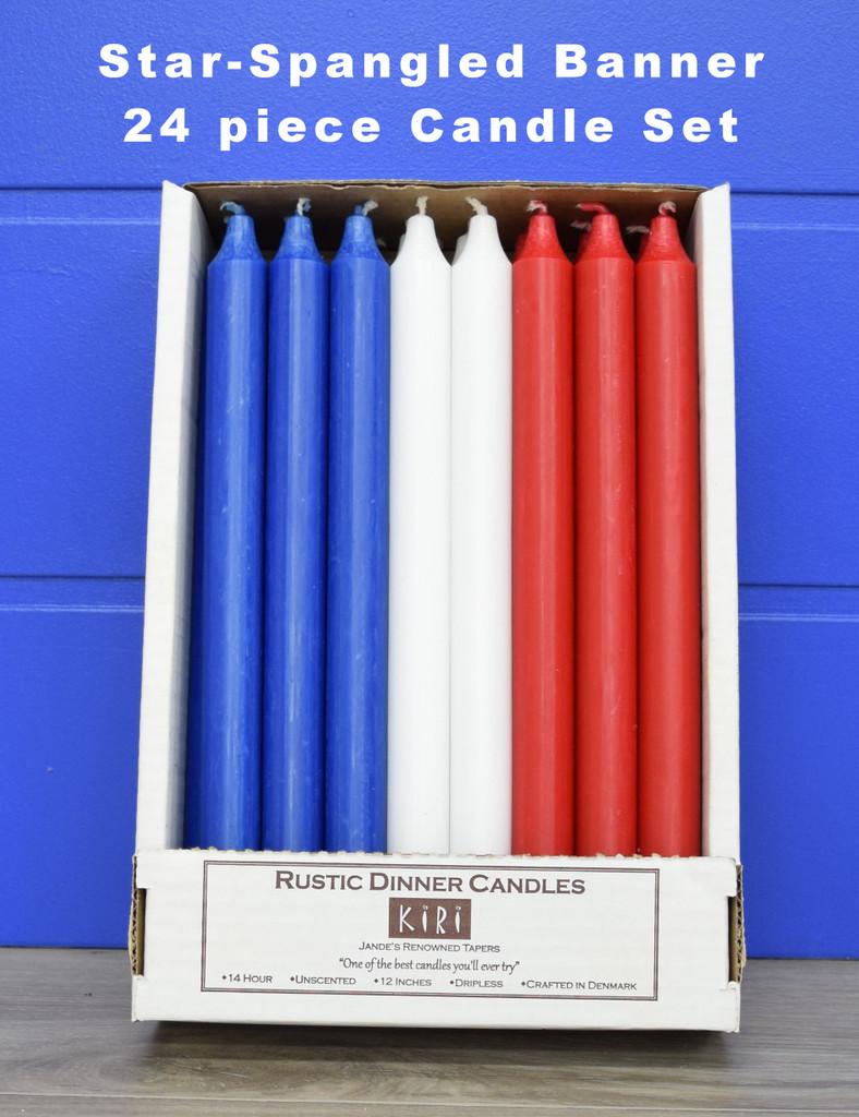 Star-Spangled Banner 24 Kiri Tapers Set (Free Shipping)