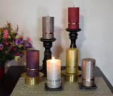 The Pure Collection of the Premium  Dripless pillar candles