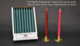 "12"" Slightly Imperfect Kiri Tapers - Box of 24 per color"
