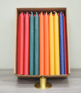 "12"" Slightly Imperfect Kiri Tapers - Box of 57 (Assorted colors) - Free Shipping"