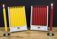 Kiri Tapers - Pack of 24 per color