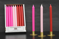 Valentine Romance Value Pack Set - Box of 24 (8 ea. Red / Light Pink / Hot Pink) Free Shipping