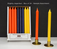 "12"" Slightly Imperfect Kiri Tapers - Box of 24, Assorted Colors"