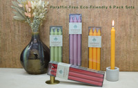 Paraffin-Free Eco-Friendly 6-pack sets