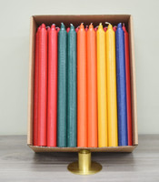 """12"""" Slightly Imperfect Kiri Tapers - Box of 57 (Assorted colors) - Free Shipping"""