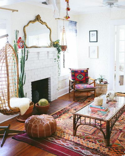 How to bring  the bohemian style into your home dècor