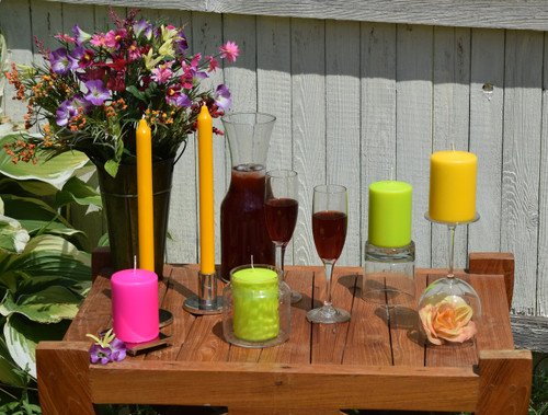 3 Outdoors candle decoration items for this summer