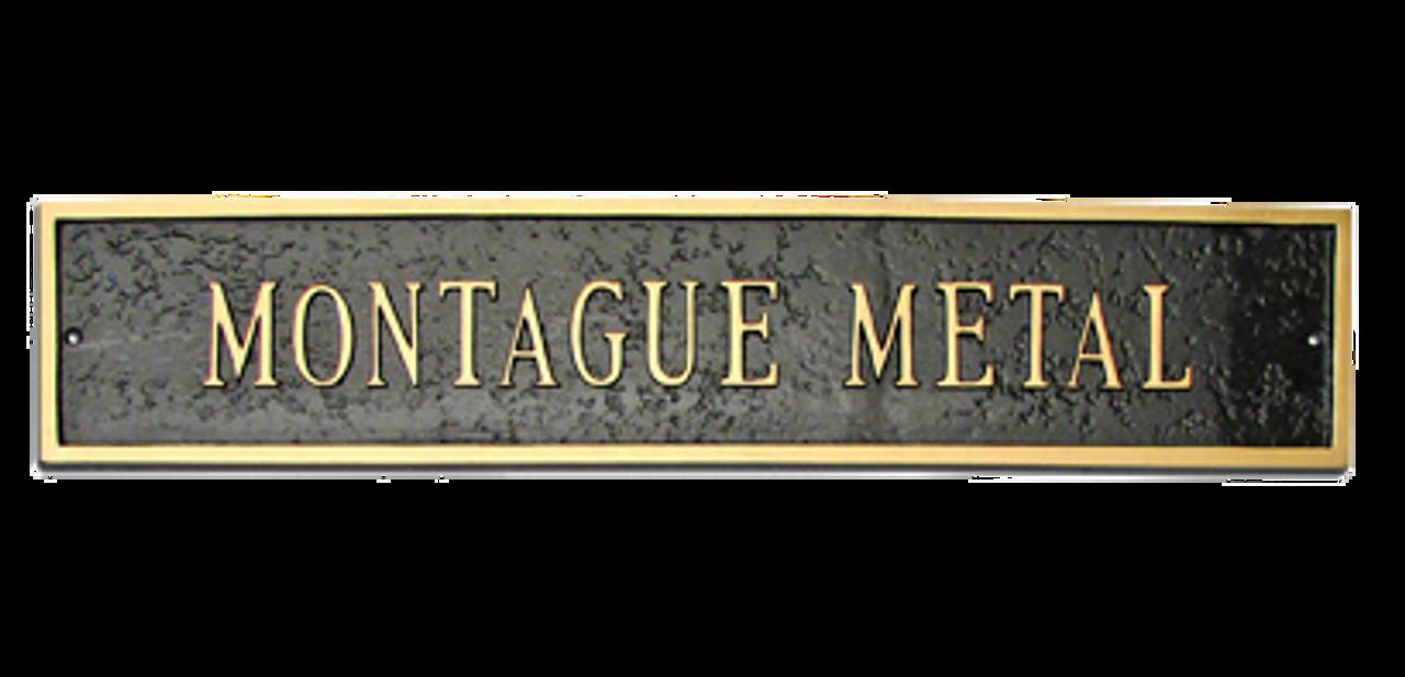 Address Plaque Extension Classic - Estate Size