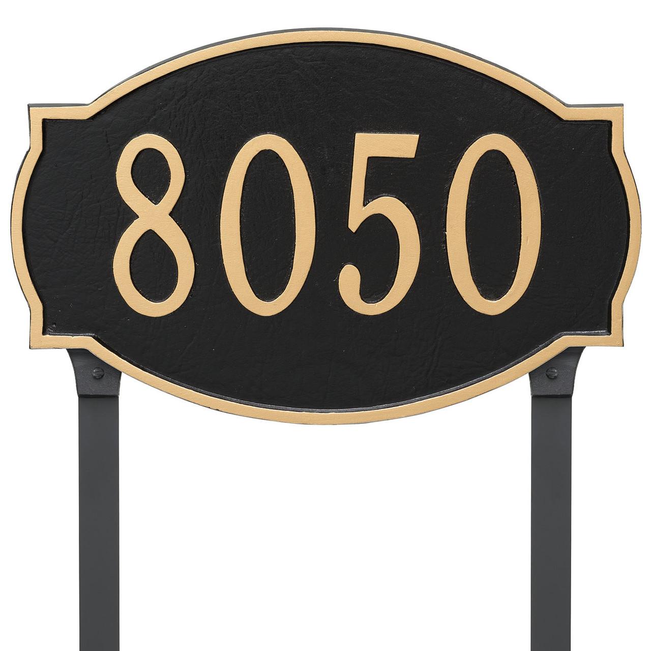 Cambridge Address Plaque (Estate Size)