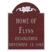 Wedding Plaque with Established date