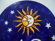 Top of Ceramic House Plaque