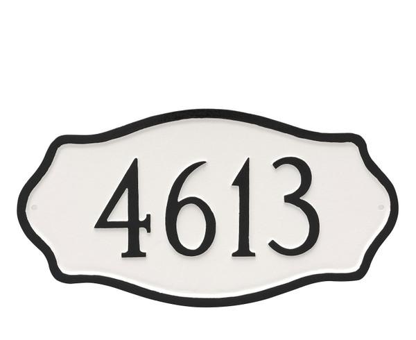 Hampton Address Plaque