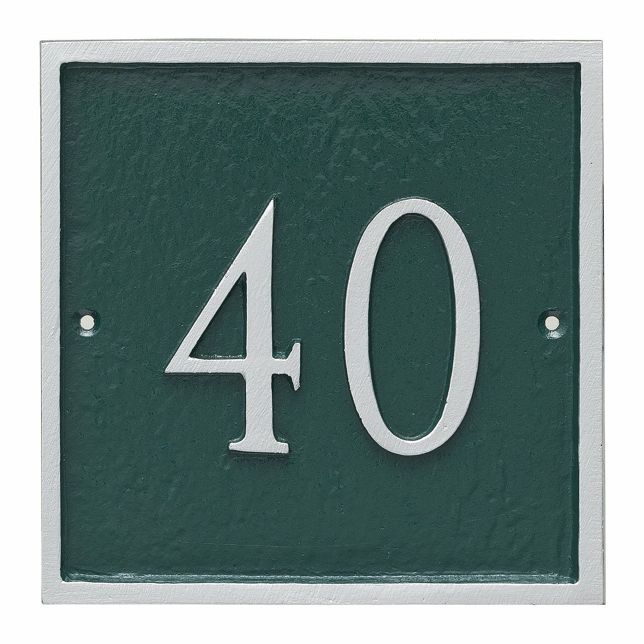 Large Address Plaque Square House Number Plaques Metal