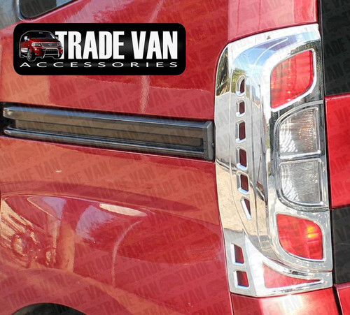 Our Citroen Nemo Rear Light Covers ABS Chrome transform the rear styling of your Nemo Van or Nemo Multispace MPV. Specially engineered using the latest Diamond Chrome Polymer Technology. Buy online at Trade Van Accessories.