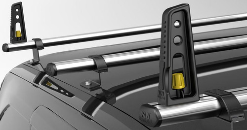 Introducing the revolutionary ULTI Bar roof bar system from Van Guard! These class leading roof bars offer flexibility and affordability without compromising on the appearance of your vehicle. Manufactured in the UK. Buy online at Trade Van accessories.