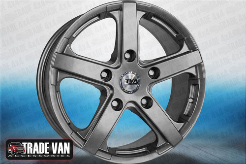 """Our Silver high quality 16"""" alloy wheels for the Ford Transit Vans are an eye-catching and stylish accessory for your Van Ultra lightweight and strong, finished in a unique specialised shine without the premium price, yet load rated to your vans legal specifications. These wheels need to be seen! Buy online at Trade Van Accessories"""