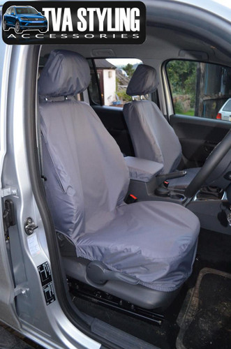 VW Amarok Seat Covers 2011 on Front Seats GREY