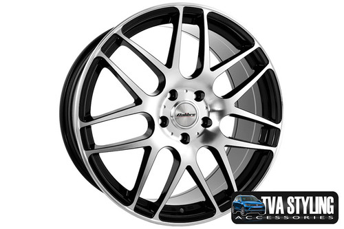Just look at these wheels that will fit a VW T6 Transporter. Ultra lightweight and strong, finished in a unique specialised shine without the premium price, yet load rated to your vans legal specifications. These Exile alloy wheels need to be seen! Buy online at TVAStyling.co.uk