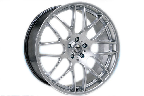 """Our silver high quality 20"""" alloy wheels for the VW Volkswagen T6 Transporter are an eye-catching and stylish accessory for your Van Ultra lightweight and strong, finished in a unique specialised shine without the premium price, yet load rated to your vans legal specifications. These wheels need to be seen! Buy online at TVA Styling."""