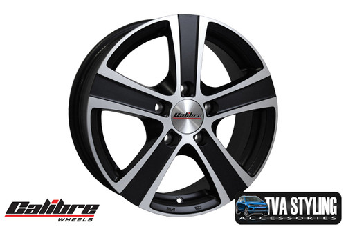 """Our Black high quality 18"""" alloy wheels for the VW T6 Transporter are an eye-catching and stylish accessory for your Van. Buy online at Trade Van Accessories."""