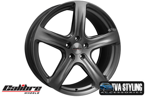 """Our Gunmetal high quality 18"""" alloy wheels for the VW T5 Transporter are an eye-catching and stylish accessory for your Van. Buy online at TVAStyling.co.uk"""