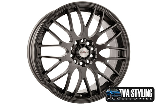 Just look at these wheels fitted to a Ford Transit Connect. Ultra lightweight and strong, finished in a unique specialised shine without the premium price, yet load rated to your vans legal specifications. These wheels need to be seen! Buy online at Trade Van Accessories.