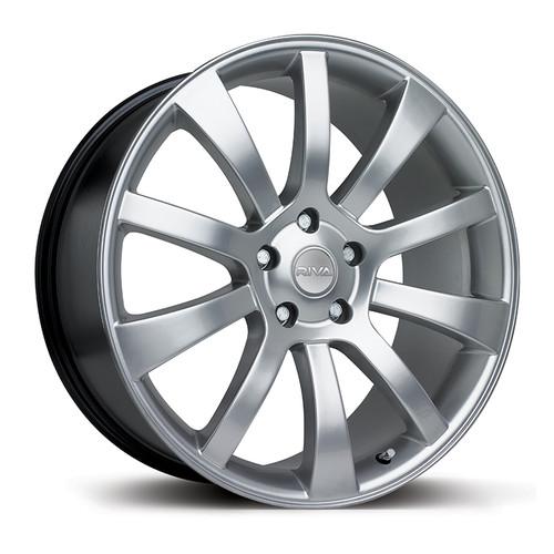 """Riva SUV 18"""" Alloy Wheels - Silver"""