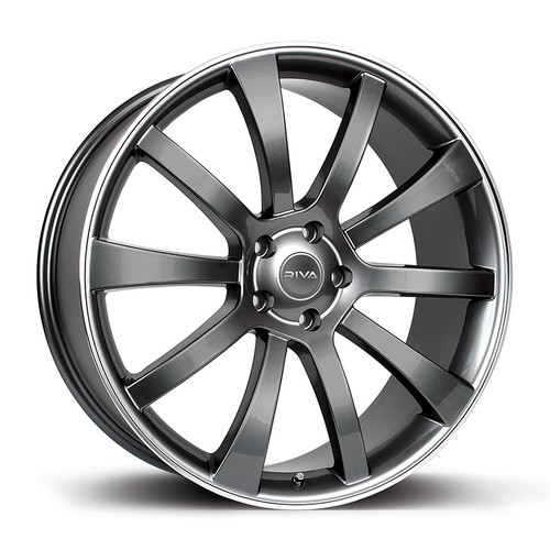 "Riva SUV 18"" Alloy Wheels - Gloss Grey"