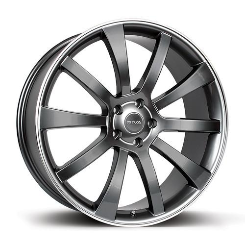 """Riva SUV 18"""" Alloy Wheels - Gloss Grey"""
