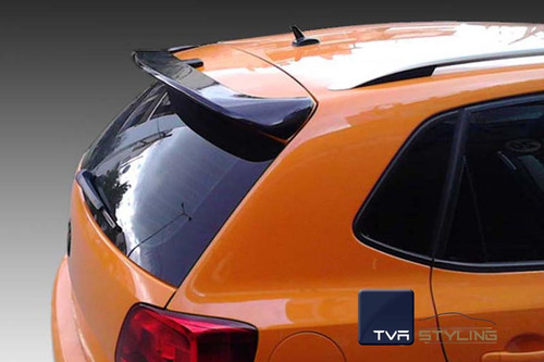Rear Boot Spoiler For VW POLO, PU SOLID LIGHTWEIGHT SPOILER