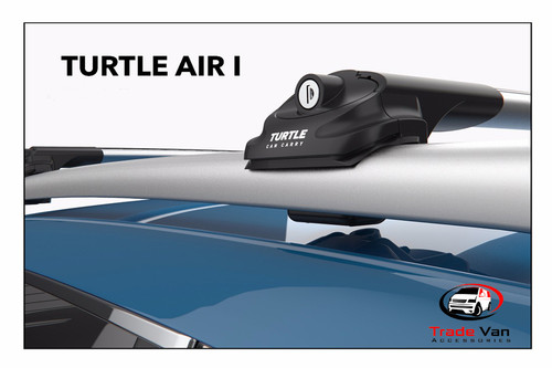 Silver Turtle Air I cross bars roof rack is a great addition to create extra carrying space on top of your vehicle. They attach to the side roof rails of your vehicle creating a crossbar rack to carry any bulky items. This is great for transporting items without losing interior space