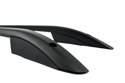 Black TX3 Sahara Roof Rail Set - VW Amarok 2010 - on
